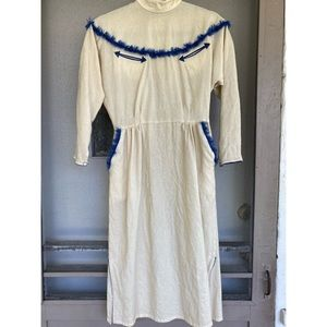 Quirky Vintage Western Dress